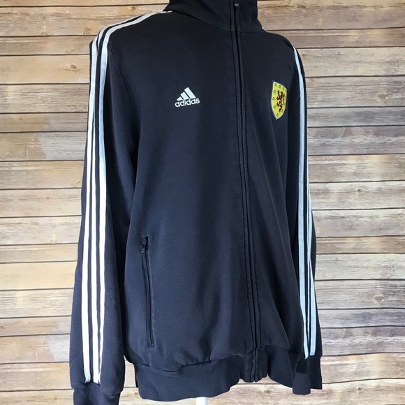 42aafb515 adidas Shirts | Scotland Full Zip Sweatshirt | Poshmark